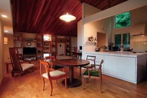技拓の造作キッチン